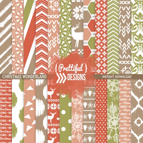 Christmas Wonderland Paper Pack