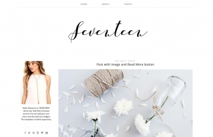 Blogger Template for Photography