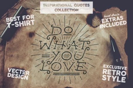 Inspirational Quotes Set + Extras