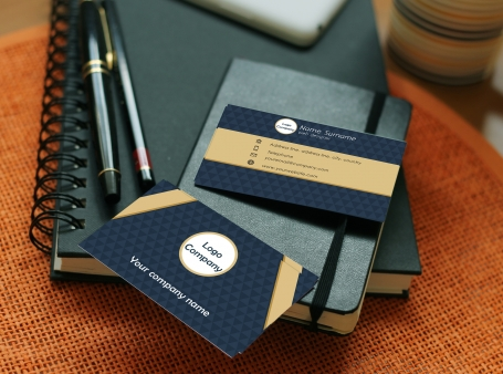 Modern Business Card | 5 colors
