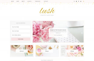 Lush // WordPress Theme