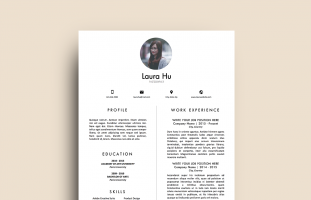 Resume Template for MS Word (3