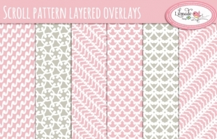 Scroll pattern overlays