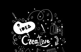 Creative Ideas in vector.