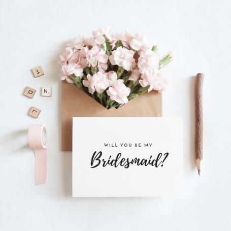 Will you be my Bridesmaid Post