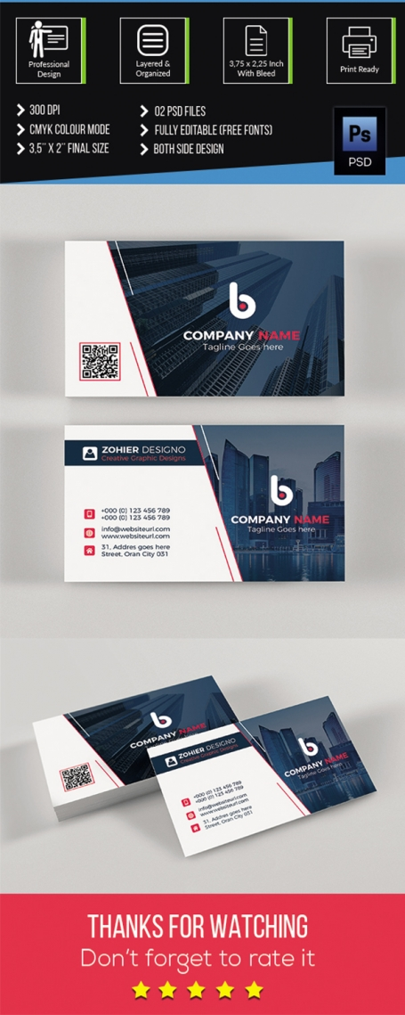 Corporate Modern Business Card