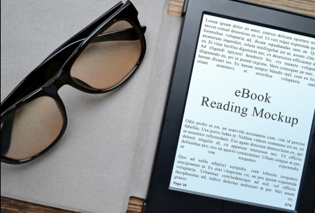 Professional eBook Reading Mockups