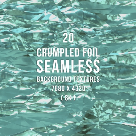 20 Crumpled Foil Seamless