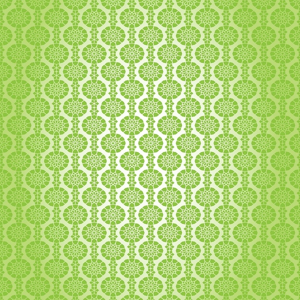 Islamic Green Color Seamless Pattern Background Graphics Magnificent Green Pattern Background
