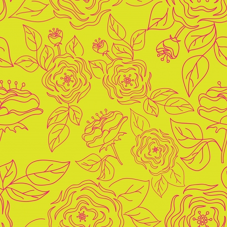 Seamless Pattern with Hand-Drawn