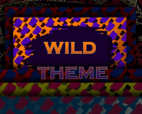 Wild Theme Frames & Backgrounds