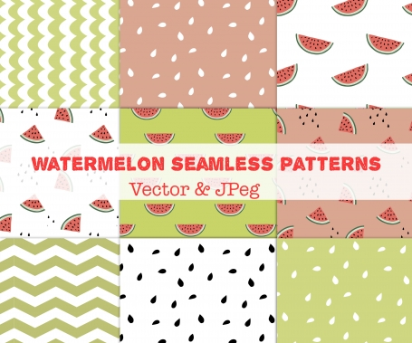 Watermelon Summer Patterns