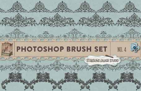 Photoshop Brushes Sweet Ornament