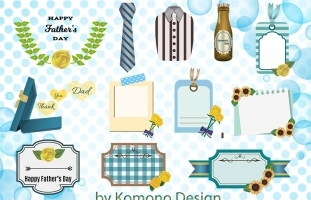 FREE Clip Art Set for Father's Day