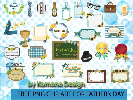 Ultimate Clip Art Set for Father's