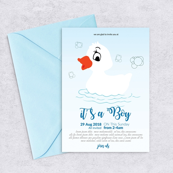 Baby Shower Flyer Template Print Invitations Baby Luvly