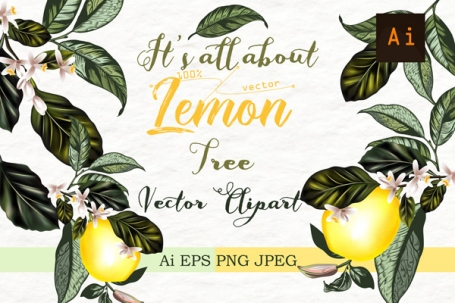 It's All About Lemon. Vect