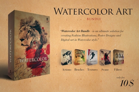 Watercolor Art Creator - Bundle