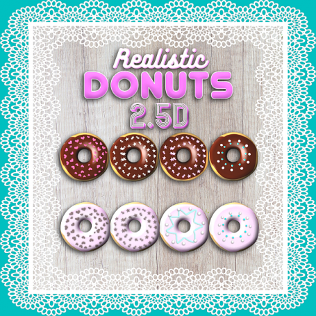 Realistic Donuts
