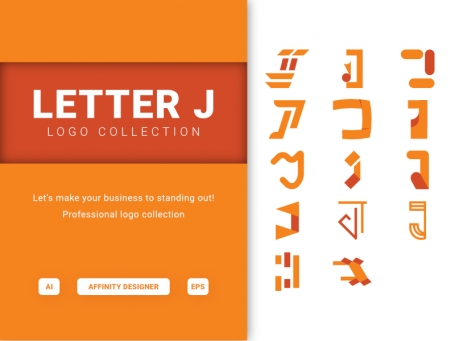 Letter J - Logo Collection