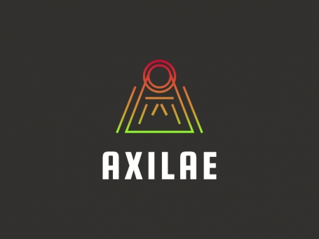 Letter A Line Gradient - AXILAE