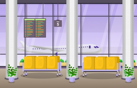 Airport Airplane Terminal Gate