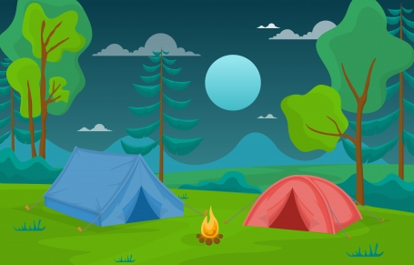 Camping Adventure Outdoor Park