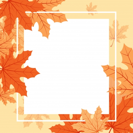 Autumn Fall Season Leaf Greeting