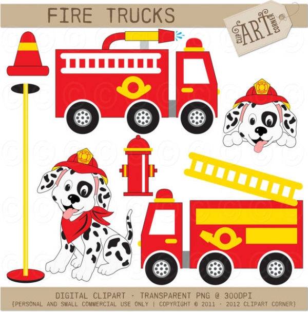 free clipart images fire trucks - photo #37