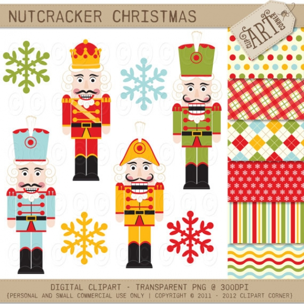 free christmas nutcracker clipart - photo #34